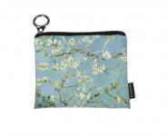 Peněženka mini - Van Gogh - Mandloňové květy