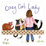 Magnetka Crazy cat lady