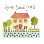 Přání Home sweet home