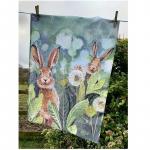 Utěrka AC - Little rabbits - 45*65 cm