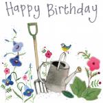 Přání Birthday gardening
