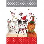 Utěrka AC - Christmas cats - 45*65 cm