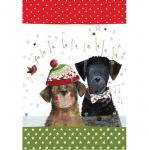 Utěrka AC - Christmas dogs - 45*65 cm