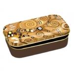 Dóza nízká Klimt - Strom života 10*6,2*2 cm