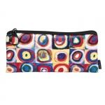 Pouzdro textil - Kandinsky - Studie barev